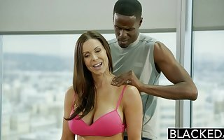 BLACKED Fitness Coddle Kendra Lust Loves Huge Disgraceful Cock