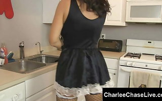 Submissive Tampa MILF Charlee Woo is Maid to Please!