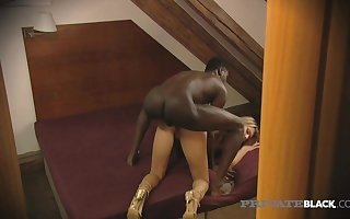 Private Black - Chocolate Cock Sweetheart Kristy Lust Dark Dicked
