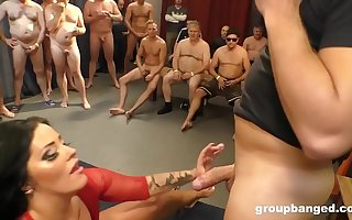 Ashley Cumstar Groupbanged in all respects Her Glory Holes