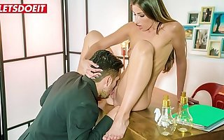 LETSDOEIT - Hot Brunette Clea Gaultier Gets What She Wants Foreigner This Guy
