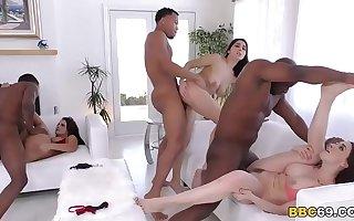 Chanel Preston, Keisha Grey, Valentina Nappi - Interracial