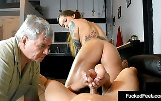 Downtrodden Fucked Maria Marley Bitches At Fan To the fullest Milking Dick!