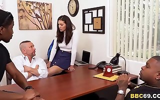 Daughter Fixes Daddy's Problem - Bella Rolland