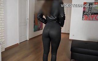 brunette Tao does  porn casting