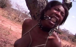 Black Girl Outdoor Public Humiliation