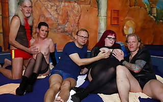 German swinger orgy in a sexual connection club