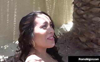 Raging Bushwa Rome Pre-eminent Stuffs Thick Butt Latina Alycia Starr