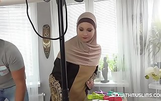 A Muslim cleaning lady was punished for failing to complete chum around with annoy task