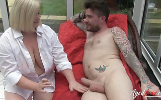 AgedLovE, Mature Lacey Starr In Hardcore with Luke Hotrod