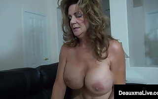 Big Dick Debt Collector Collects Out of reach of Texas Cougar Deauxma!