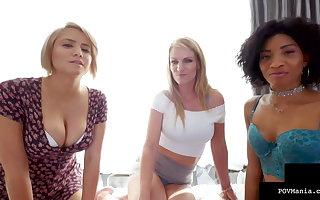 Cock Sucking Alix Lovell, September Reign & Rachael Cavalli !