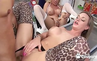 British Cougars Cindy Behr Added to Paige Ashley Bang The Market Manager
