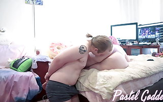 Trained Botheration Kissing with a Fart - Pastel Goddess