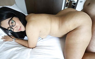 TukTukPatrol, Plump Asian with a Big Booty Takes Douche All