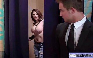 Big Tits Sexy Horny Wife Fucks Hard Style vid-18