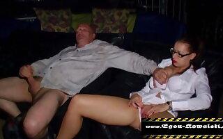 wank in the porn cinema