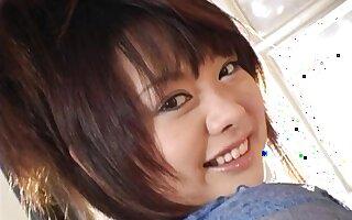 Naff lady-love with busty Sakura Kawamine