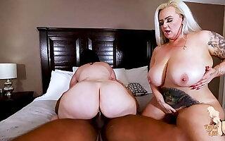Big Tit Wives Kendra Kox and Virgo Fuck BBC Stranger
