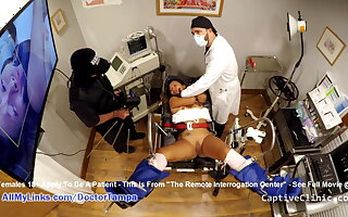 Helpless Latina Shocked & Interrogated, Left alone Doctor & Police