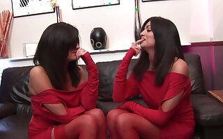 Das Hobby der Zwillinge, saftige Schwaenze