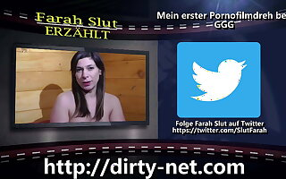 (GER) Farah Slut talks about will not hear of first porn shoot at GGG