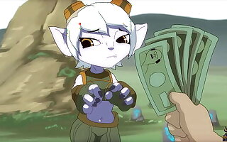 A great gangbang with Tristana for asseverative