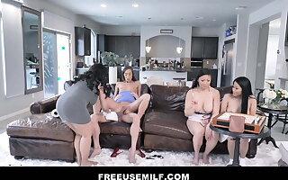 Freeuse MILF - extremist Porn Series by Mylf - Reverse Gangbang