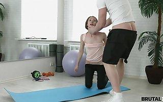 BrutalX - Rough assfucking practice Stefanie teen porn