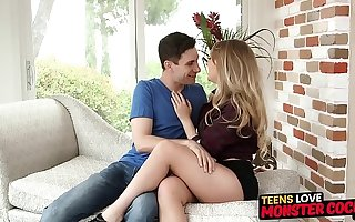 Luscious youngster Harley Prick pussy railed passionately
