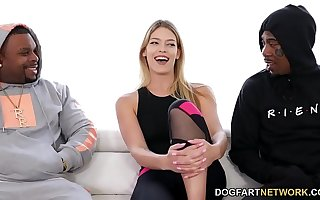 Innocent Leah Lee Turns Naughty Later on She Sees BBC