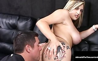 Anal Gaped Dayna Vendetta Gets Cramped Butthole Tongue Fucked!