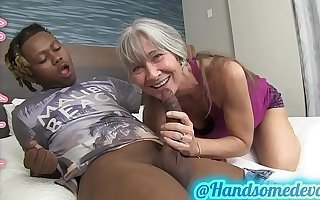 granny takes dicks in the same way as shes 18 again (leilani lei & handsomedevan)