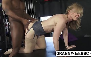 Sexy Grannies get Chunky Black Cocks