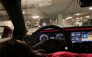 Genevieve Sinn Sucks Sevyan Hardens In Benz