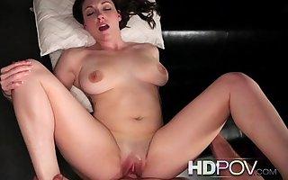 HDPOV Beamy titied Melanie Hicks getting creampied