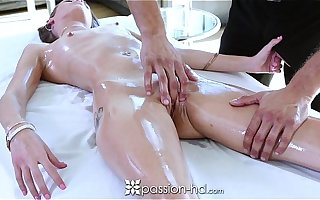 Passion-HD - Oiled massage with Kacy Lane and Danny Loads