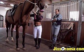 JizzOrama - Latina Tera Rapture Dispense Cock Along the same lines as a Horse !