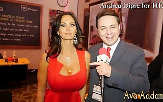 Ava Addams plays with her boobs be required of Andrea Diprè